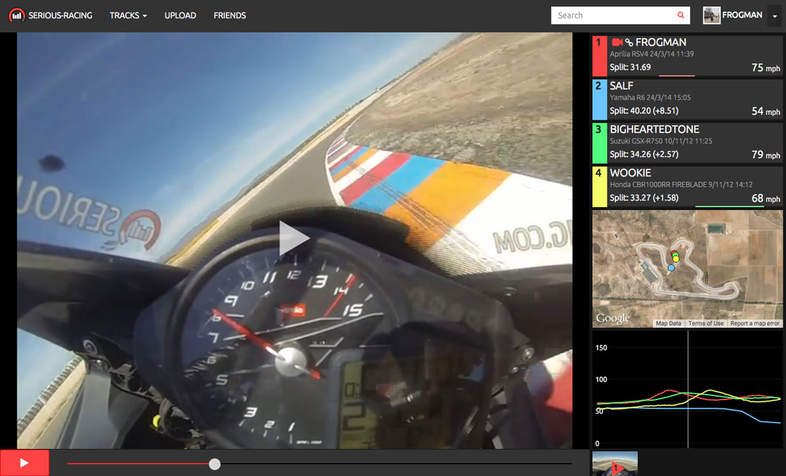 Serious-Racing video view